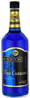 Mr. Boston Liqueur Blue Curacao 1.00l - Case of 12